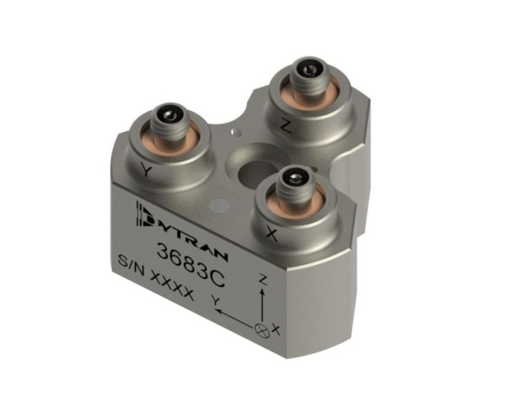 Dytran Instruments' Model 3683AXT: Ultra High Temperature Triaxial Accelerometer
