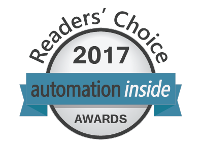 Automation Inside Awards 2017 - Vote for your favorite Automation Companies and Products