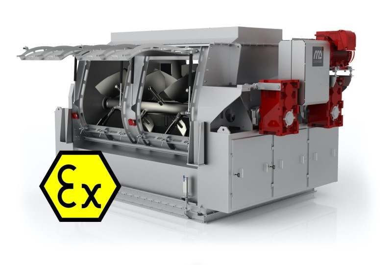 New ATEX certification for Pegasus® Mixers from Dinnissen Process Technology