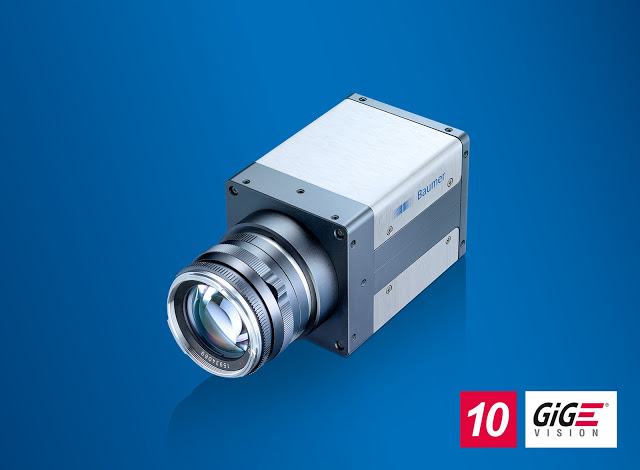 Baumer's New QX Series Cameras with 12 megapixel at 335 fps and 10 GigE interface