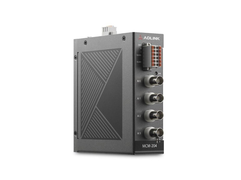 ADLINK's New MCM-204 Edge DAQ Systems for Machine Condition Monitoring