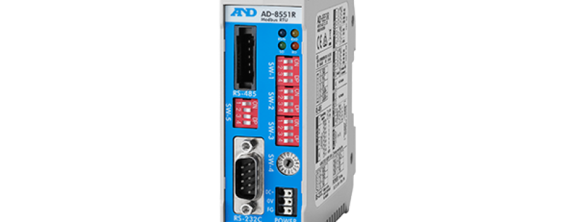 A&D's new AD-8551R - RS-232C to RS-485 Converter