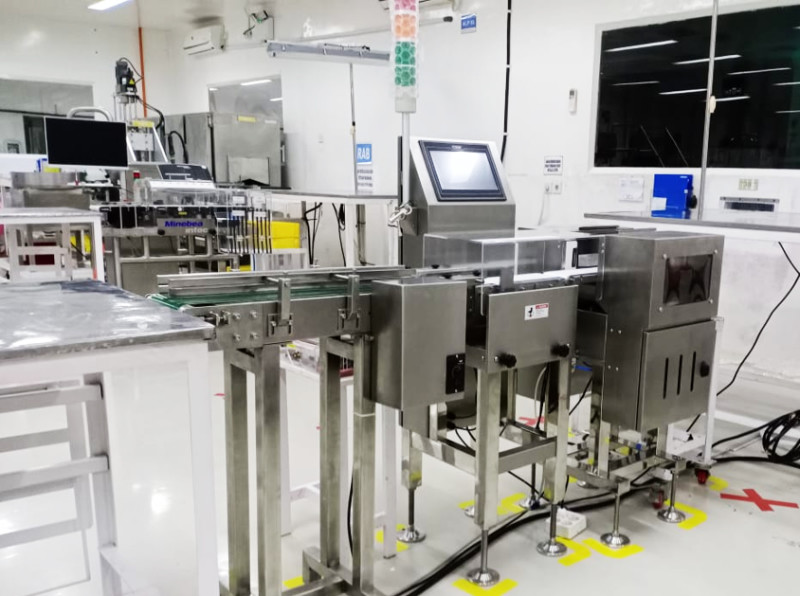 General Measure In-motion Checkweigher: Provide Cost Saving and Real Time Quality Management