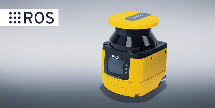 Safety laser scanners PSENscan from Pilz now with ROS package for dynamic navigation in production logistics