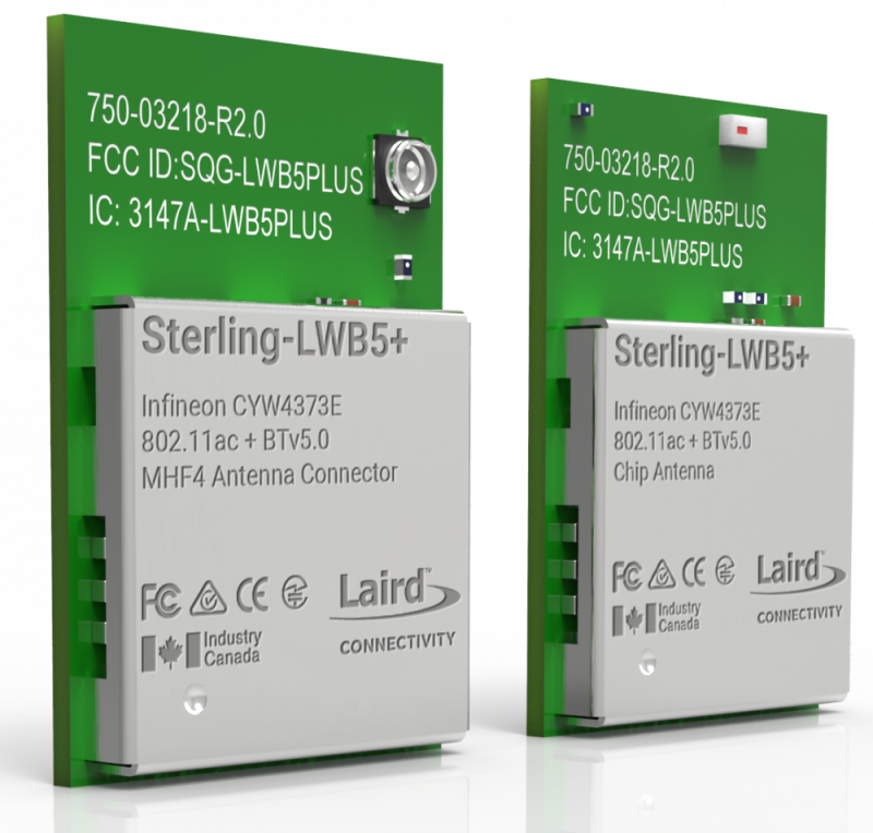 Laird Connectivity and Cypress Deliver New Wi-Fi® + Bluetooth® 5 Combo Module Purpose-Built for Industrial IoT
