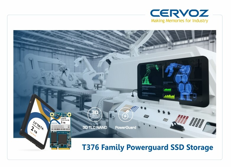 Cervoz 3D TLC Powerguard SSD Launched