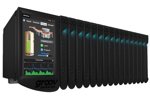 Opto 22 announces world's first Edge Programmable Industrial Controller: groov EPIC
