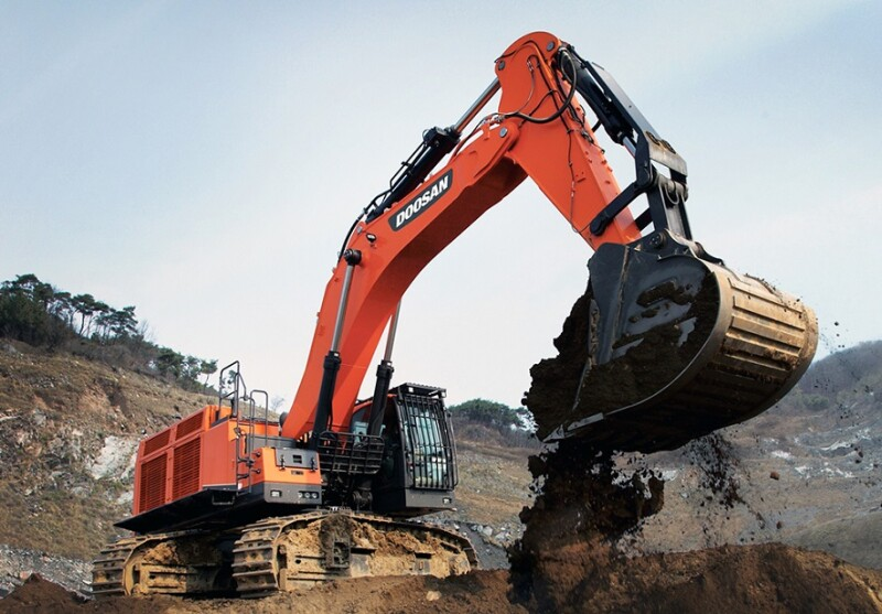 Doosan Infracore Wins Orders for Large Excavators from Various Regions of China