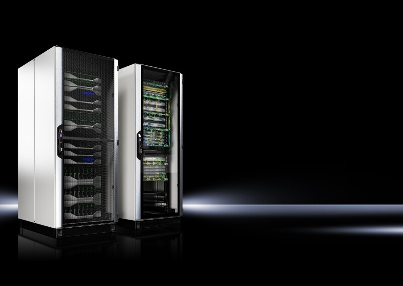 Rittal presented the world's fastest IT Rack