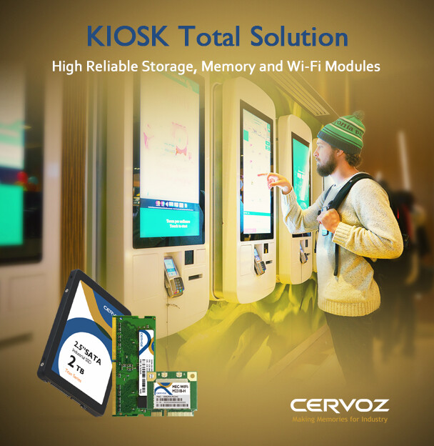 Cervoz Case Study - Total Solution for KIOSK Application