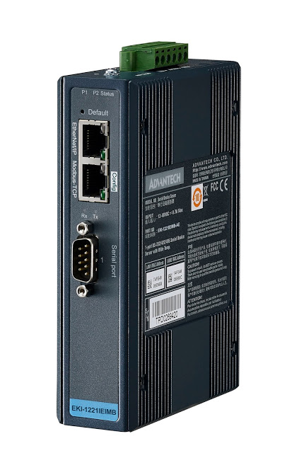 Advantech's New EKI-1221IEIMB & EKI-1221IPNMB Protocol Gateways