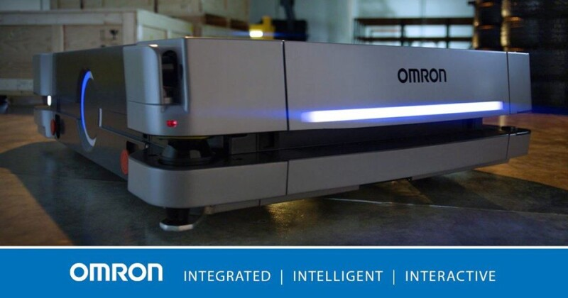 New HD-1500 mobile robot from Omron expands autonomous materials transport options with 1500kg payload capacity