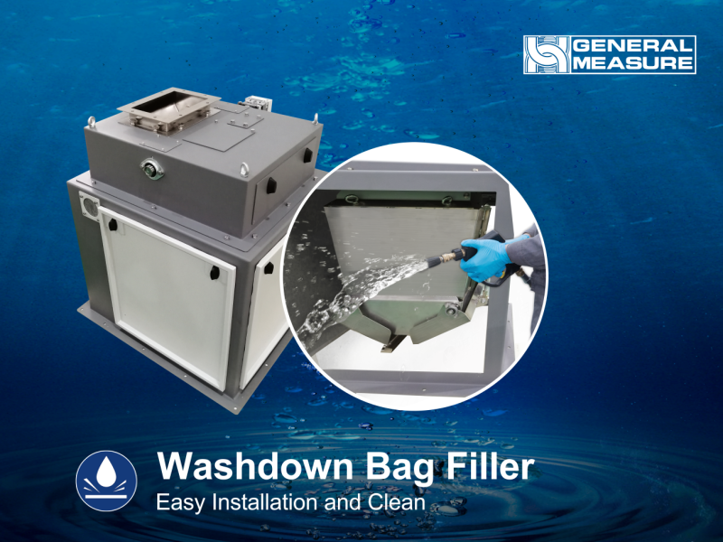 GM Washdown Bag Filler for Harsh Environment