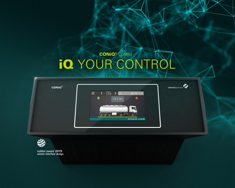 Schenck Process launches its new control unit generation CONiQ® Control