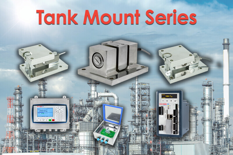BLH Nobel's New Integrated Tank Mount Series with Off-the-Shelf Availability for Process Weighing Applications