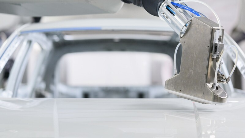ABB unmasks the future of customized automotive painting with PixelPaint