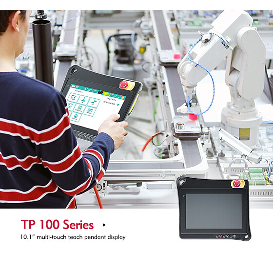 Discover the Comfort and Flexibility of NexCOBOT's TP 100-1 Teach Pendant