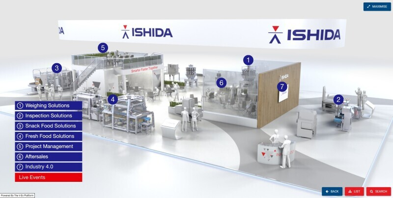 Ishida launches Virtual Showcase