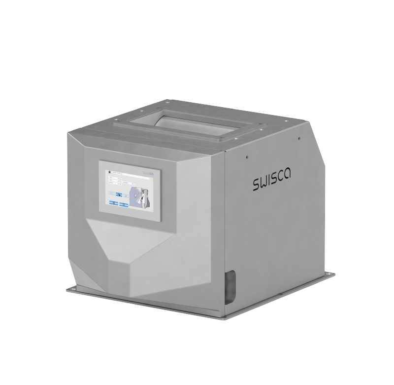 SWISCA - Online Automatic Flow Controller FLOBA with Scaime Load Cells