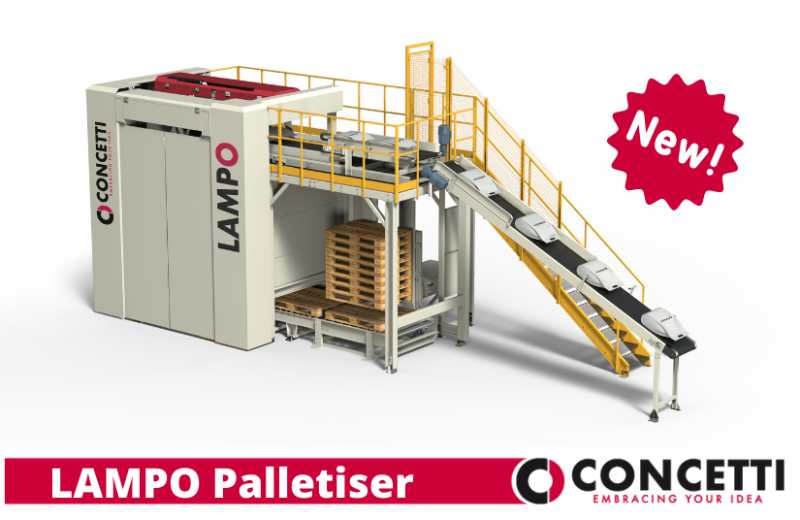 New Concetti Palletiser