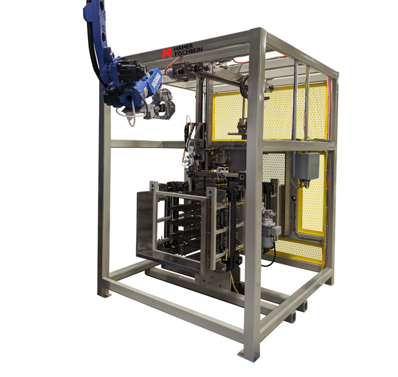 Hamer-Fischbein Launches New Robotic Valve Bag Placer