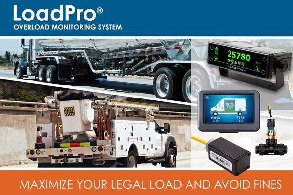 New Overload Monitoring System Helps Truck and Van Owners and Operators to Avoid Costly Fines and Maximize Legal Loads of Commercial Vehicles