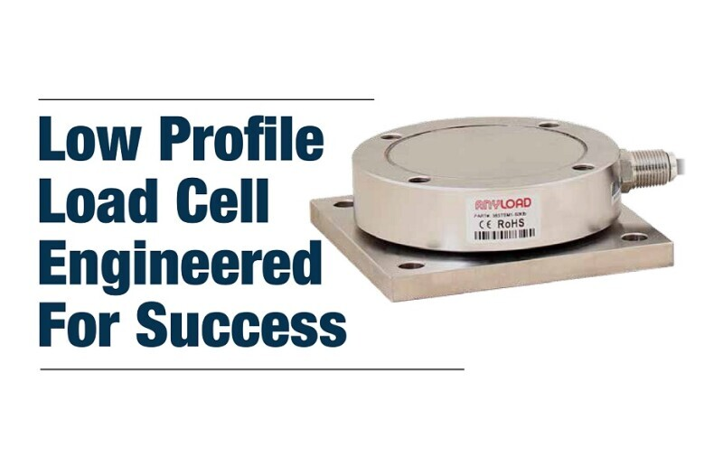Anyload Low Profile Load Cell Engineered for Success