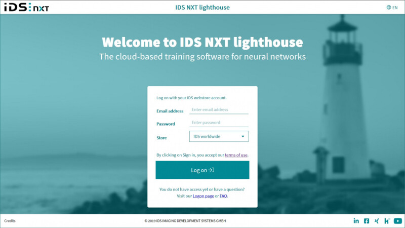 IDS NXT lighthouse: Intuitive AI training Software Without the Need for Programming
