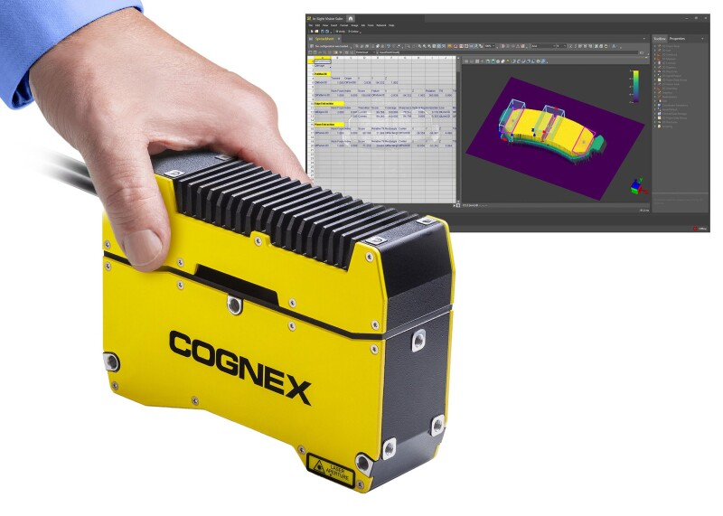 Cognex Introduces In-Sight® 3D-L4000 Vision System