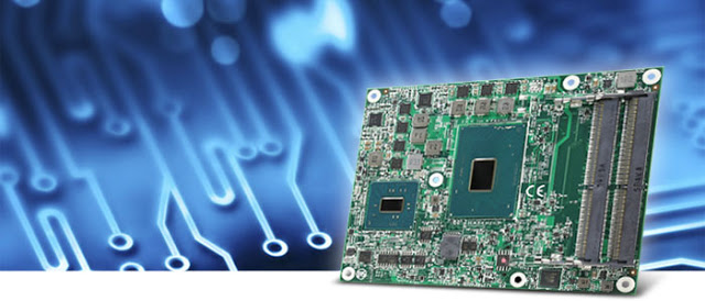 ARBOR Introduces The EmETXe-i90M0 COM Express Basic Type 6 module with 7th Generation Intel® Core™ Processor