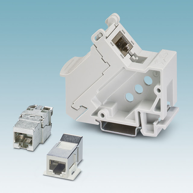 Phoenix Contact's New Robust RJ45 Modules for Industrial Applications