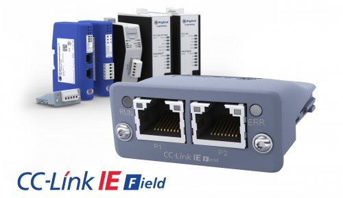 New Anybus CompactCom enables automation devices to communicate on CC-Link IE Field