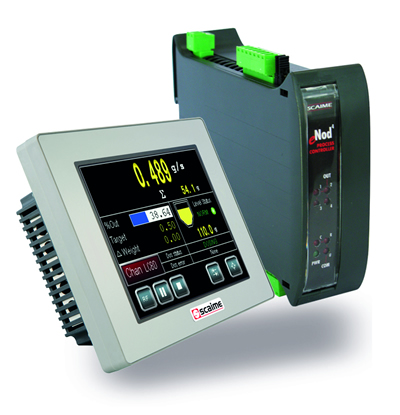 SCAIME introduced eNod4-F a Continuous Weighing Controller for Loss-in-Weight Feeders