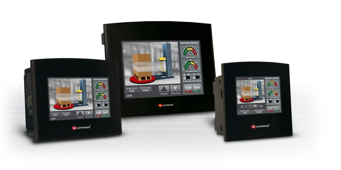 Unitronics released the New Samba, a cost-effective all-in-one PLC with HMI and onboard I/O