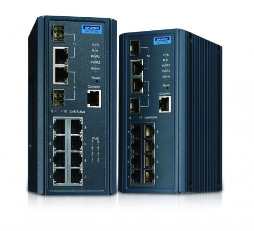 Advantech Launches IXM Supporting Managed Switch