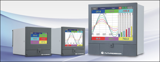 "Introducing FDC's PR Paperless Recorders with 4.3"", 5.6"" and 12.1"" Touch Screen Interface"