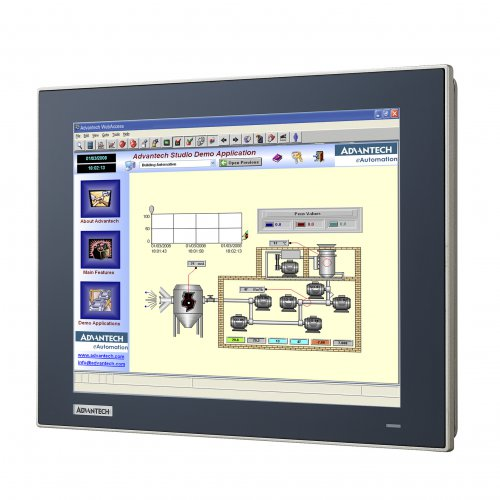 New TPC-1251T/1551T Low Power Consuming True Flat Touch Panel Computer from Advantech