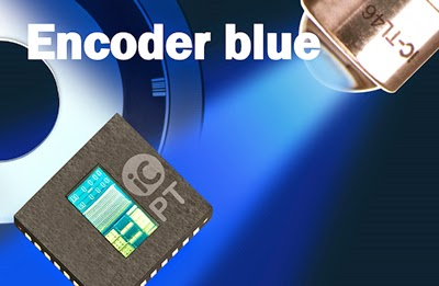 An Innovative Leap from iC-Haus in Single-Chip Optical Encoders by using blue LEDs