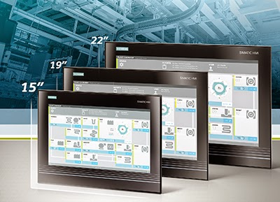 "Gesture and multi-touch operation of machinery and plant – on a 15"" display from Siemens"