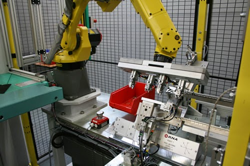RNA Robotic Loading and Test System