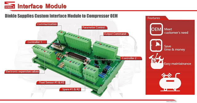 Dinkle Supplies Custom Interface Module to Compressor OEM