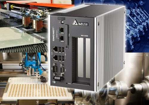 Delta Electronics' Programmable Automation Controller (PAC) with