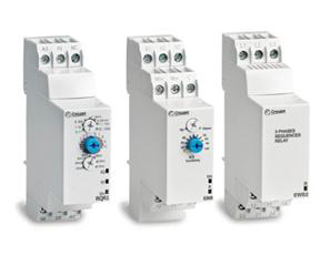 Crouzet Control presents redesigned Chronos 2 Timers, Level & Phase Control Relays