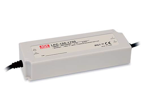 Mean Well Enterprises' New LPC-150 Series 150W Economical Constant Current Output LED Power Supply
