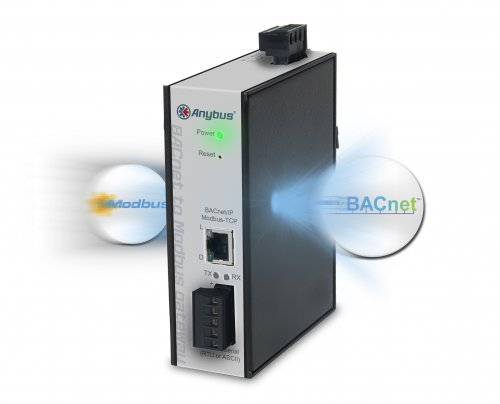 New Anybus Gateway makes Modbus devices talk BACnet