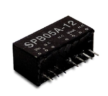 Mean Well Enterprises' New SPB05 Series 5W Regulated Single Output DC-DC Converter