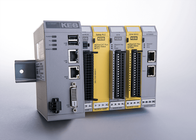 KEB America announces safety PLC, IO, and Software for Automation Systems